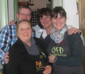 Het team van Materne Haegelin en Le Château de ma Mère