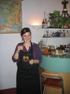 Elise Hagelin bij Le Château de ma Mère in Honselersdijk
