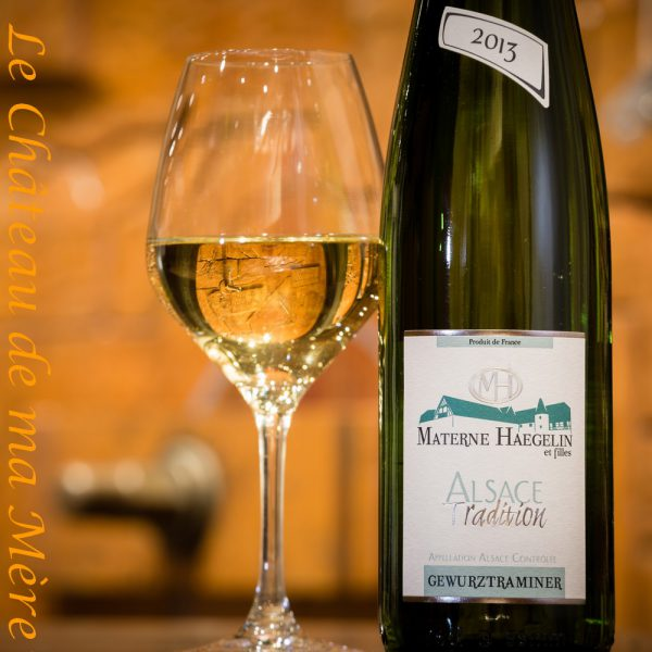 materne haegelin Gewurtztraminer tradition Le Chateau de ma Mere